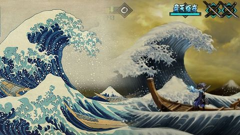 Obrazy pływającego świata w grach