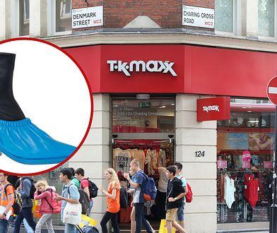 Kontrowersyjne buty w TK Maxx