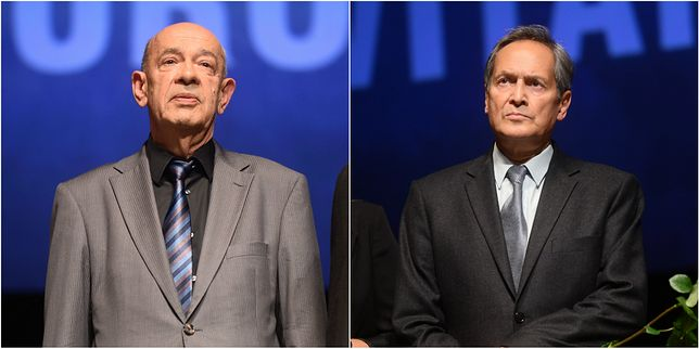 Od lewej: Antoni Krazue, Jerzy Zelnik