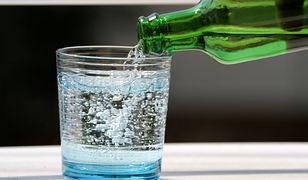 Woda mineralna smakowita