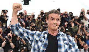 Sylvester Stallone na festiwalu w Cannes, 2019