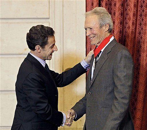 Clint Eastwood odznaczony orderem Legii Honorowej