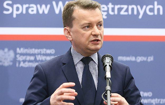 Mariusz Błaszczak o walce z terroryzmem: trzeba wrócić do korzeni Europy, do chrześcijaństwa