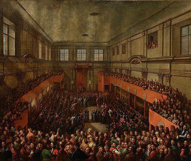 Uchwalenie Konstytucji 3 maja 1791 roku, obraz Kazimierza Wojniakowskiego z 1806 roku.