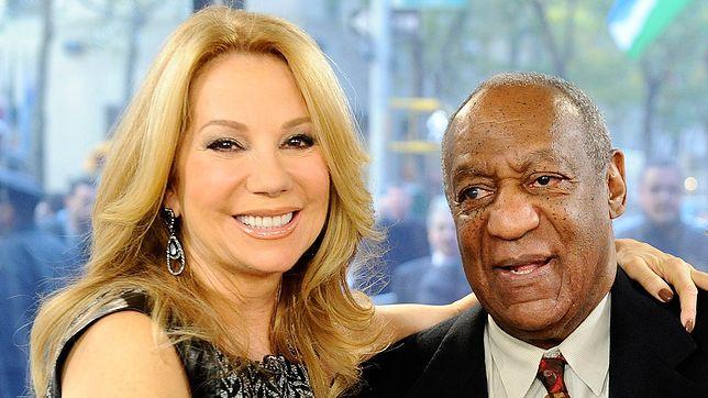 Prezenterka pracowała z Cosbym przez dwa lata.