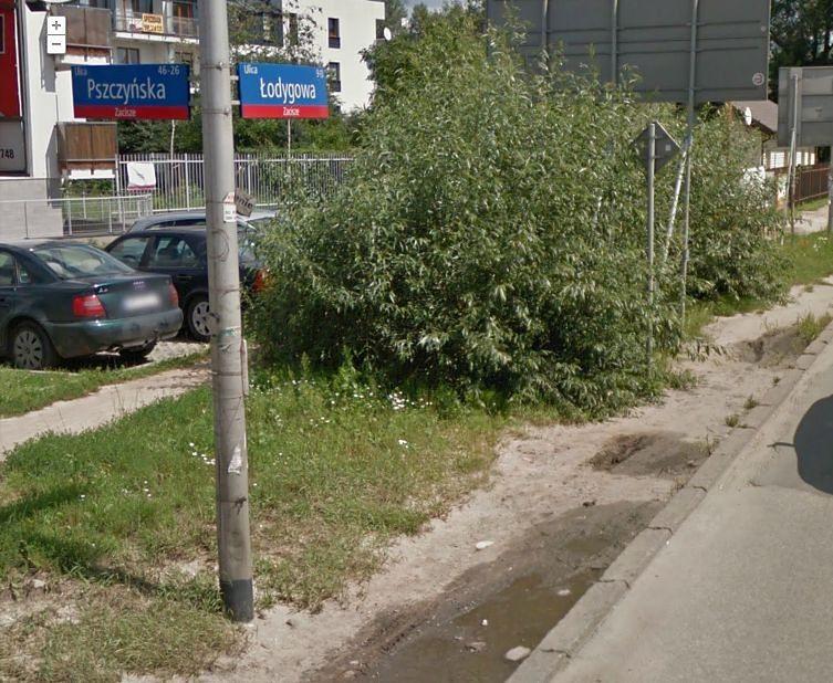 Ulica Łodygowa - obraz nędzy i rozpaczy