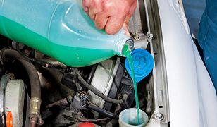 Uwaga na metanol w płynie do spryskiwaczy