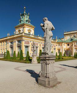 Łazienki Królewskie i Pałac w Wilanowie zapraszają do wizyt on-line