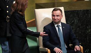 Andrzej Duda w czasie 72. sesji Zgromadzenia Ogólnego ONZ