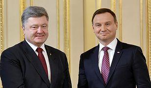 Szef MSZ Ukrainy: deklaracja Dudy i Poroszenki niezwykle ważna dla pojednania