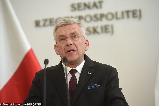 Strajk nauczycieli 2019. Stanisław Karczewski apelował o pracę dla idei