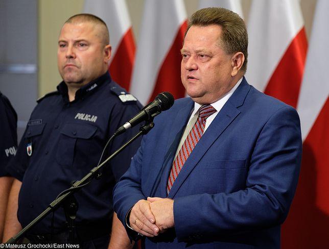 Kontrolę wszczęto po doniesieniach o ochranianiu domu wiceministra Jarosława Zielińskiego