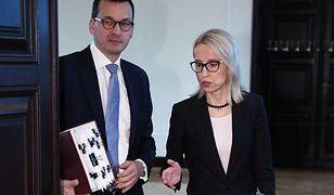 Mateusz Morawiecki i Teresa Czerwińska