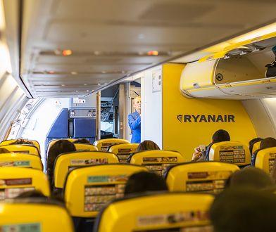 Samolot należący do linii Ryanair nie mógł wystartować, ponieważ był za ciężki