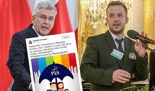 Grafika o LGBT+. Nauczyciel Roku do Karczewskiego: jesteśmy równi