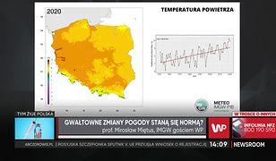 """Pogoda. Mapa Polski, która otwiera oczy. """"Zima stulecia"""" i globalne ocieplenie"""