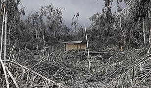 Krajobraz po wybuchu wulkanu