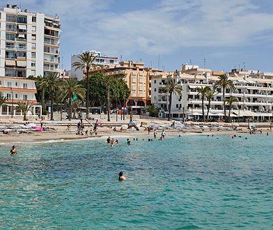 Plaża Figueretas na Ibizie