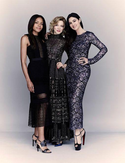 Lea Seydoux, Naomie Harris i Monica Bellucci
