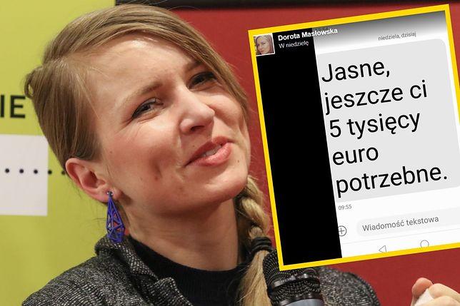 Dorota Masłowska odbierze polsko-niemiecką nagrodę dopiero 18 października
