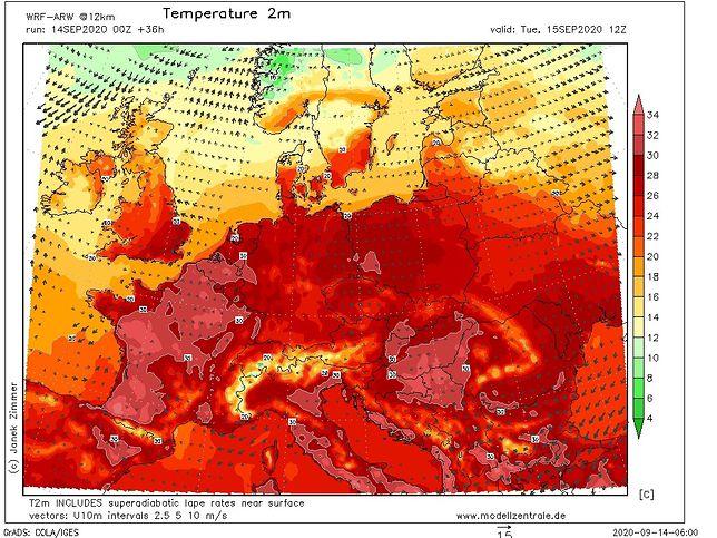 Pogoda tygodniowa. Temperatura w najbliższych dniach może przekroczyć 30 st. C