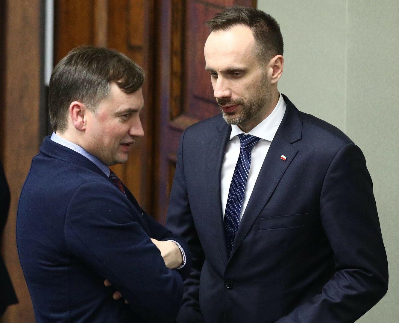 """Janusz Kowalski pytany o Zbigniewa Ziobrę. """"Ma gołębie serce"""""""