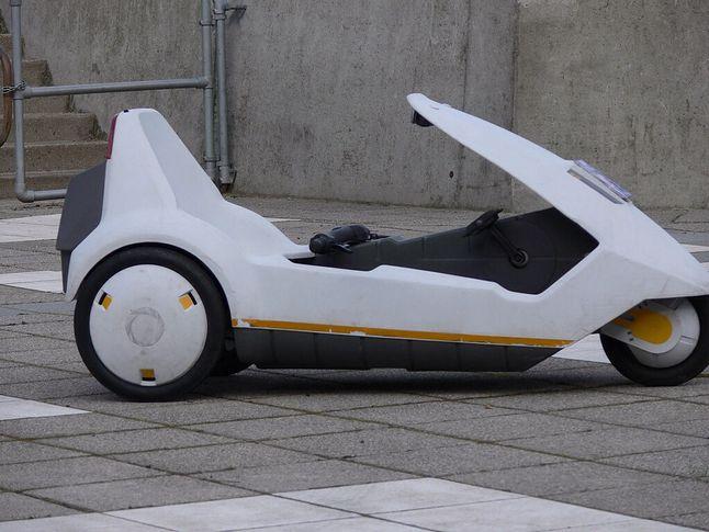 Osobisty pojazd Sinclair C5.