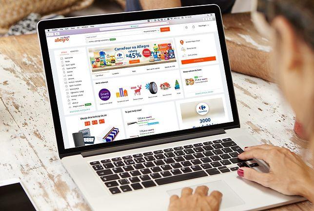 Carrefour będzie sprzedawać na Allegro