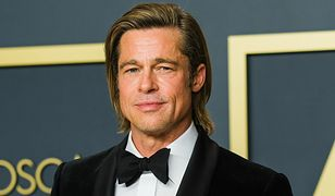 Brad Pitt i Nicole Poturalski. Mama dziewczyny twierdzi, że nic ich nie łączy