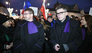 Sędziowie Igor Tuleya i Paweł Juszczyszyn w Trybunale w Luksemburgu