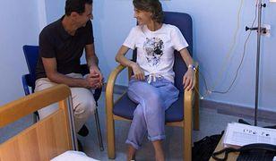 U żony Baszara al-Assada zdiagnozowano raka piersi