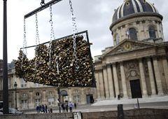 Paryż - Most Miłości stracił romantyczny klimat