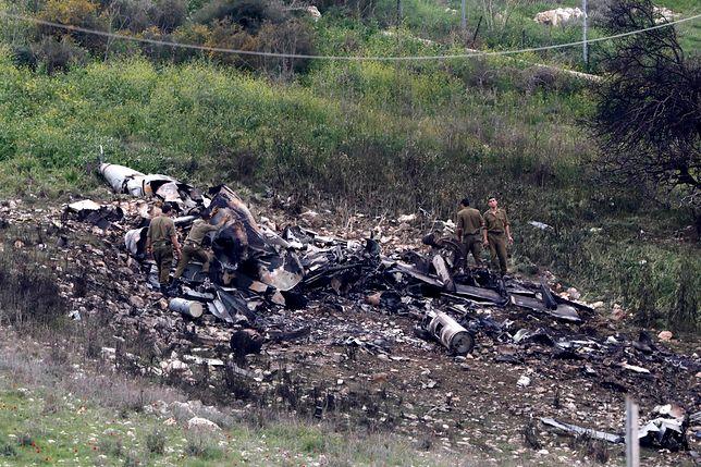 Zestrzelenie izraelskiego myśliwca. Wojna w Syrii wkracza w niebezpieczną fazę