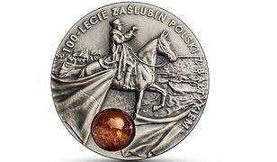 NBP upamiętnił zaślubiny Polski z Bałtykiem. 5000 monet w czwartek trafi do sprzedaży