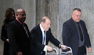 Harvey Weinstein bliski zawarcia ugody. Przyszedł do sądu o balkoniku