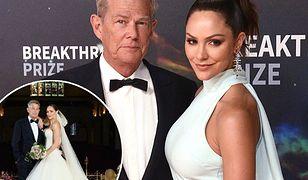 David Foster z żoną