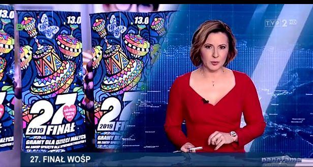 """TVP nie zapomniało o WOŚP. Wzmianka o finale w """"Panoramie"""" i """"Wiadomościach"""""""