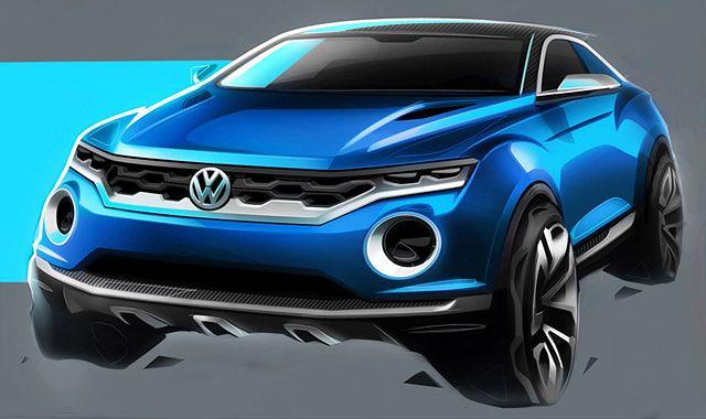 Volkswagen T-Roc: sportowy crossover