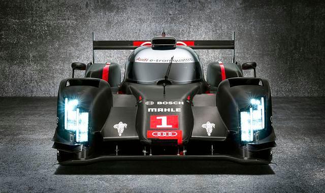 Audi R18 e-tron quattro z laserowymi światłami