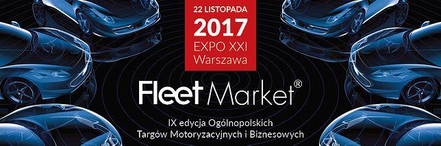 Samochody dla biznesu - osobowe, użytkowe i z napędami alternatywnymi na targach Fleet Market 2017