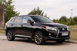 Lexus RX 450h: hybrydowy SUV