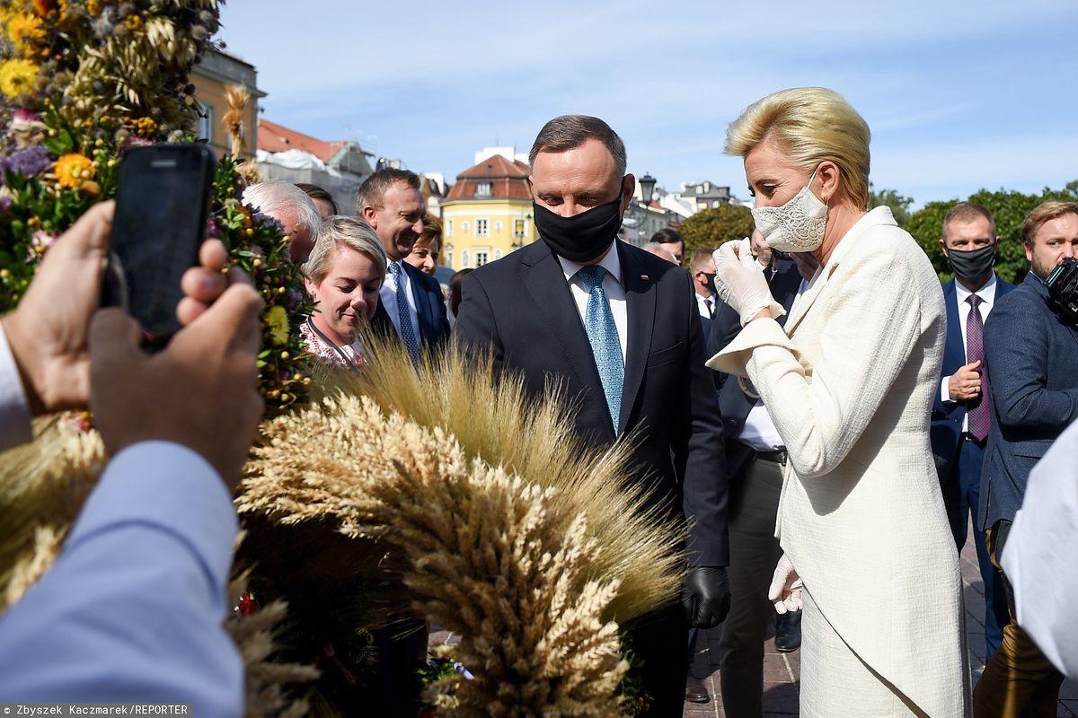 Piątka dla zwierząt. Dożynki prezydenckie. Andrzej Duda i Agata Kornhauser-Duda