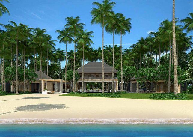 Wizualizacja kurortu., Fot. Blackadore Caye Development Group