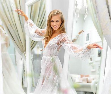 Agnieszka Kaczorowska miała trzy suknie ślubne
