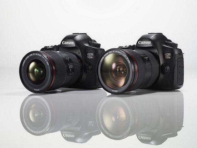 Najnowsze lustra Canona - EOS 5DS i EOS 5DS R (50,6 MPix!)