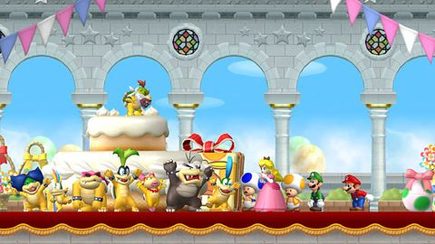 Galeria i okładka New Super Mario Bros. Wii