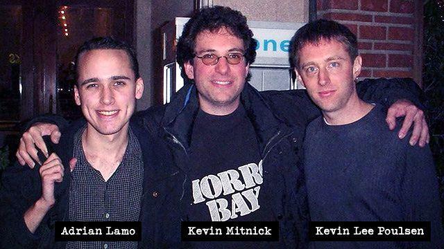 Trójka najniebezpieczniejszych crackerów przełomu wieków. Zdjęcie wykonane około 2001 roku.