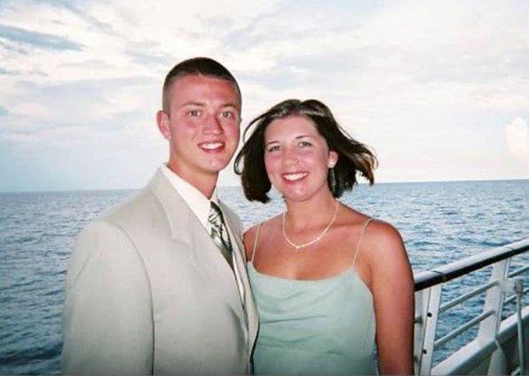 Ashley Hallford z mężem
