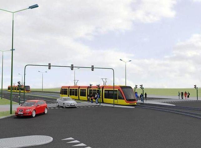 Jest pozwolenie na budowę linii tramwajowej na Tarchomin