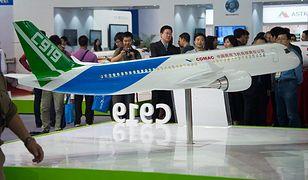 Tak będzie wyglądał samolot COMAC C919